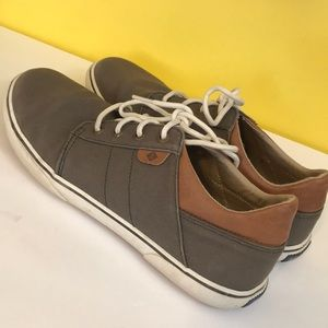 Sperry Canvas Topsiders Size 7